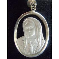 Medalla Rostro Virgen De Guadalupe