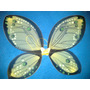 Alas De Hadas Mariposa Colores Nuevos 55x45 Cm Amarilla