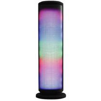 Caixa Som Bluetooth Portatil Led Torre Rádio Fm Usb Pulse