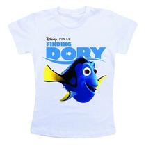 Camiseta Infantil Personalizada - Procurando Dory