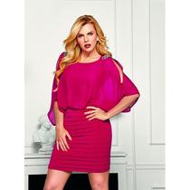Vestido Cklass Rojo De Coctel Otoño 2015 Nuevo Chica