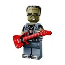 Lego Minifigures Series 14 Monster Rocker Lacrado By Tbc