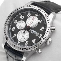 Reloj Lorus Para Caballero Rf817dx9 Analogo Crono Wr100m