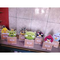 Decoração De Festa Angri Birds 5 Display De 28 Cm