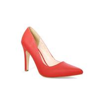 Trender Zapatilla Tipo Stiletto En Color Rojo Granadina