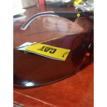Lentes De Seguridad Caterpillar Dozer Safety Blue Cat