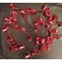 Bambalina Campanas Plasticas Para El Arbolito Navidad Usadas