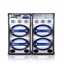 Caixas De Som Amplificadas Nks Excellence Pk-6000 Com 600w