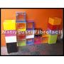 Cubos De Fibrofacil 30x30x20 De 9 Mm Pintados Zona Oeste