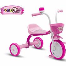 Triciclo Infantil Nathor Feminino You 3 Girl Menina