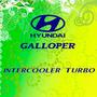 Calcomania Intercooler Turbo De Hyundai Galloper