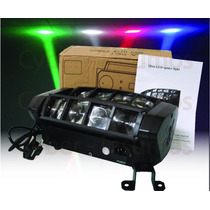 Efecto Mini Spider Beam 8x3 W Rgbw Doble Barra Movil De Leds