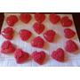 50 Sabonete Coração Com Flores Lindo Fazemos Em Qualquer Cor