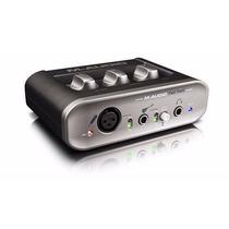 M Áudio Fast Track Mkii Mk2 Usb+brinde Com Frete Grátis