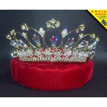 Corona Tiara Xv Años Boda Reina Princesa Novia Envío Gratis