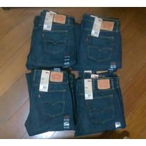 Levi´s 514 Jeans Azul Escuro Tradicional Reto Levis 501