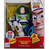 Toy Story Power Blaster Buzz Lightyear Fala Português Toyng