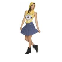 Disfraz Mujer Minion Mediano Mi Villano Favorito Halloween