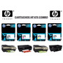 Combo Hp 670 Negro /colores Dj 4615/3525/4625/5525 St501