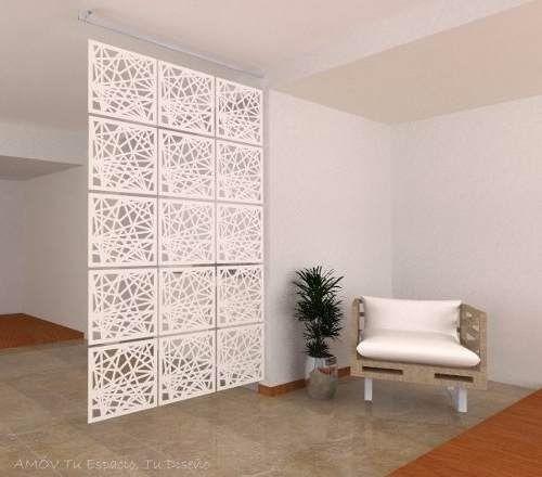 Separador de ambiente personalizado biombo decorativo en mercado libre - Biombos y separadores de espacios ...