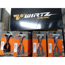 Manijas Freno Embrague Wirtz Grip Honda Xr250 Xr150 Nx400