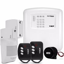 Kit Alarme Segurança Residencial Ecp Sem Fio Max 1