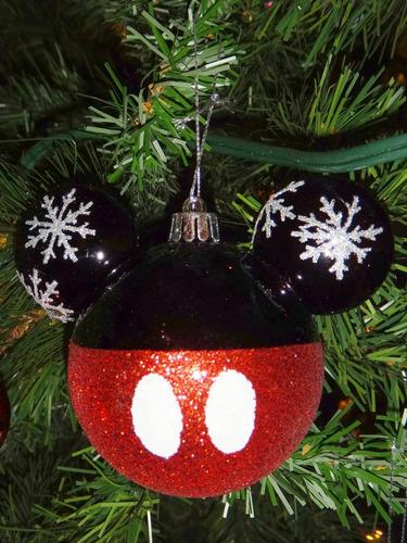 Navidad esferas decoraci n navide a mickey mouse disney - Comprar arboles de navidad decorados ...