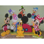 Figuras En Anime Decoracion De Mickey Minnie Leer Bien