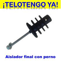 Aisladores Finales Esquineros Con Gancho Cerco Eléctrico