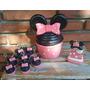 Cupcakes Y Macarons Souvenirs Porcelana Fría Minnie Mickey