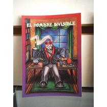 Tarjeta El Hombre Invisible Monstruos Del Bolsillo Vintage