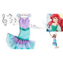 Fantasia Musical Ariel A Pequena Sereia Original Disney Eua