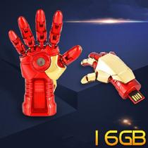 Pen Drive Mão Do Homem De Ferro 16 Gb - Os Vingadores - Led