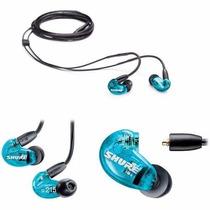 Fone De Ouvido In Ear Shure Se215 Azul Promoção Frete Gratis