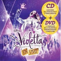 Violetta En Vivo Cd + Dvd Nuevo