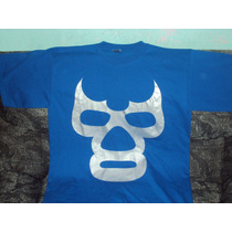 Playera Lucha Libre Blue Demon Talla Xl