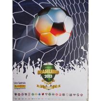 Álbum Figurinhas Campeonato Brasileiro 2013 Futebol