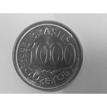 9 Moedas Brasil 1000/500/100 Cruzeiros - 1992 À 1993 - Inox