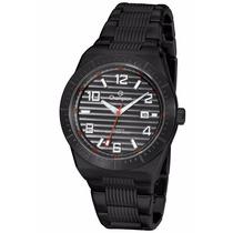 Relógio Champion Masculino Esporte Aço Wr 5 Bar 50m Ca30758p