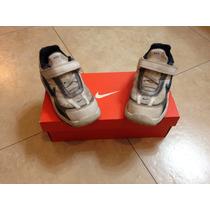 Tenis Nike Blancos Niño! Talla 9c Usa Talla 15cm Mex