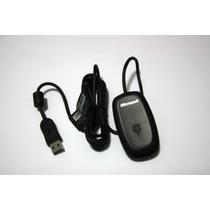 Receiver Controle Wirelees Xbox360 P/ Pc Original Microsoft