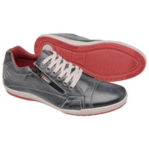 Sapatenis Dockside Sapato Casual Couro Tchwm Shoes Com Ziper