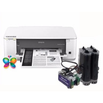 Bulk Ink Epson K101, K301 Mono + Kit Limpeza+ Tinta Inktec