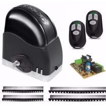 Kit Motor Portão Eletrônico Deslizante Rcg Completo