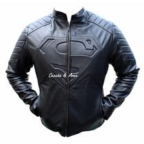 Chamarra De Superman Vs Batman Piel , Smallville ,murcielago