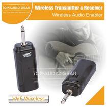 Transmissor/receptor S/ Fio P/ Guitarra/violão/baixo/teclado
