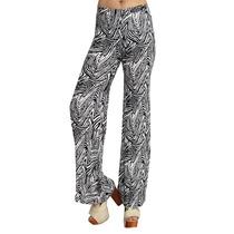 Palazzo, Pantalón Estampado Zebra, Mujer, Brishka, P-0006