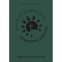 Bíblia De Estudo Para Pequenos Grupos - Luxo - Verde