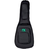 Bag Capa Case Guitarra Semi Acústica Couro Newkeepers Preta