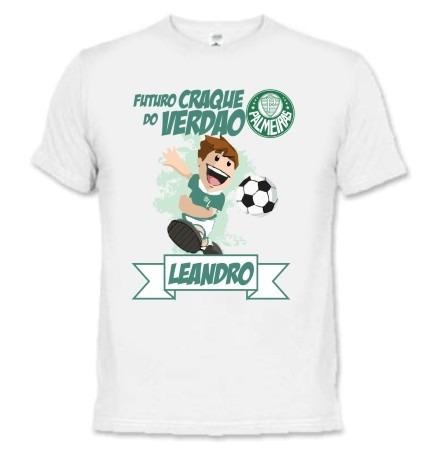Camiseta E Body Bebê - Palmeiras Palestra - Personalizada - R  39 0c42ee3161a83
